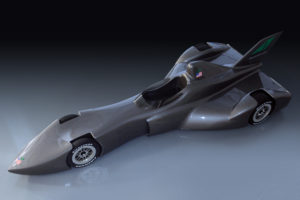 "Proposed ""DeltaWing"" Indycar.  photo: DeltaWing LLC"