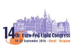 14th Euro Fed Lipid Congress Fats, Oils and Lipids:  Innovative Approaches towards a Sustainable Future  —  September 18-21, 2016   —   Ghent, Belgium