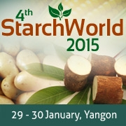 4th Starch World  January 29-30, 2015     Yangon, Myanmar/Burma