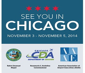 7th Annual Airports Going Green Conference     November 3-5, 2014   Chicago, IL