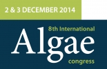 8th International Algae Congress    December 1-3, 2014    Florence, Italy