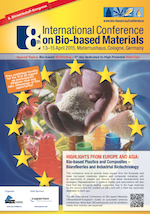 8th International Conference on Bio-based Materials  April 13-15, 2015    Cologne, Germany