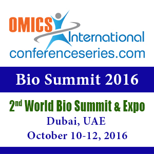 2nd World Bio Summit & Expo  —  October 10-12, 2016  —  Dubai, UAE
