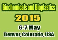 Biochemicals & Bioplastics 2015 —  May 6-7 —   Denver, CO