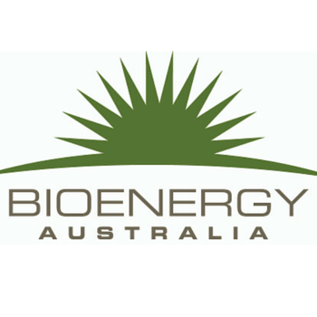 Bioenergy Australia   —    November 14-16, 2016   —   Brisbane, Queensland, Australia