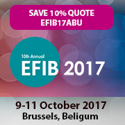European Forum for Industrial Biotechnology & the Bioeconomy (EFIB) 2017   —   October 9-11, 2017   —   Brussels, Belgium