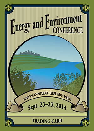 2014 Extension Energy and Environment Summit     September 23-25    Ames, IA