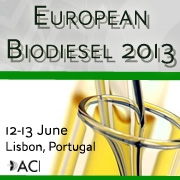 European Biodiesel 2013  June 12-13    Lisbon, Portugal