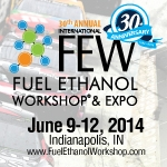 CALL FOR ABSTRACTS:  2014 International Fuel Ethanol Workshop & Expo    June 9-12   Indianapolis, IN   DEADLINE:  February 26