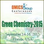 2nd International Conference on Past and Present Research Systems of Green Chemistry September 14-16, 2015 Florida