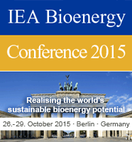 IEA International Bioenergy Conference   October 26-29, 2015  Berlin, Germany