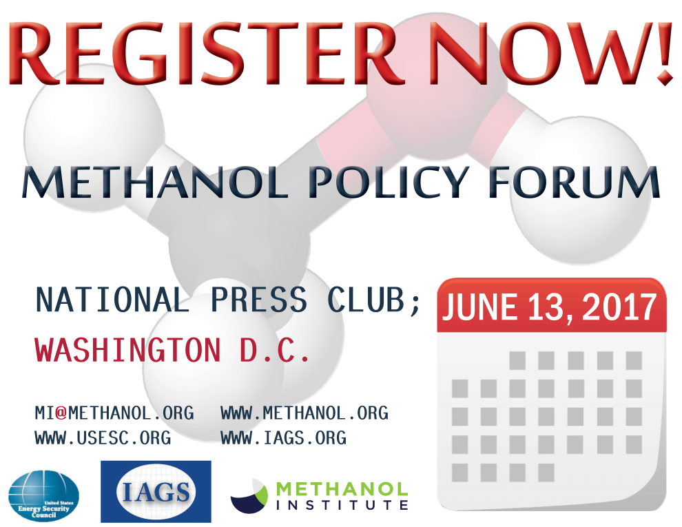 Methanol Policy Forum   —   June 13, 2017   —   Washington, DC