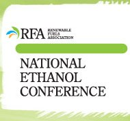 National Ethanol Conference:  Fueling a High Octane Future  —  February 15-17, 2016  —  New Orleans, LA