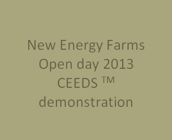 Demonstration of Leading Technology from NEF for Establishment of Fuel, Feed and Fiber Crops Using CEEDS TM Technology     September 19, 2013   Leamington, Ontario, Canada