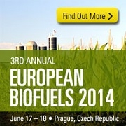 Platts 3rd Annual European Biofuels Conference     June 17-18, 2014    Prague, Czech Republic