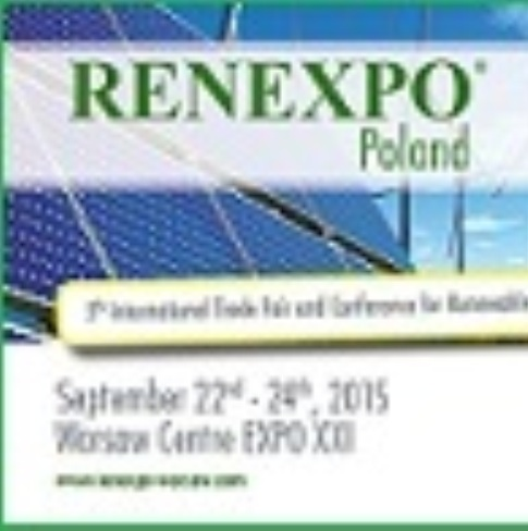 International Trade Fair for Renewable Energy and Energy Efficiency  —  September 22-24, 2015  — Warsaw, Poland