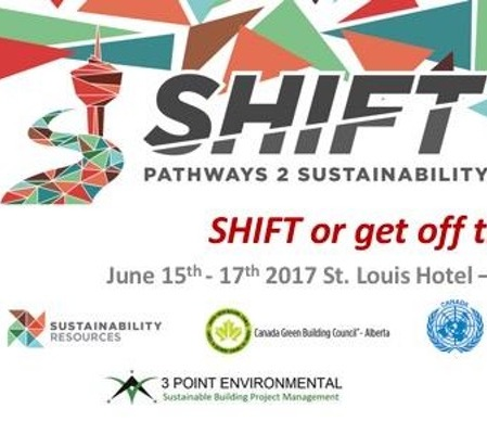 CALL FOR PROVOCATEURS:   SHIFT — Pathways 2 Sustainability — June 15-16, 2017 — Calgary, Alberta, Canada     DEADLINE:  May 10, 2017