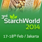 3rd Starch World 2014    February 17-18    Jakarta, Indonesia