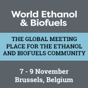 F.O. Licht's World Ethanol & Biofuels Conference and Ethanol Co-Products Forum   —   November 7-9, 2017   —   Brussels, Belgium