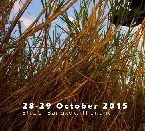 World Sugar Conference — October 28-29, 2015 — Bangkok, Thailand