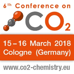 6th Conference on Carbon Dioxide as Feedstock for Fuels, Chemistry and Polymers   —   March 15-16, 2018   —   Cologne, Germany