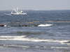 05 Booms and Shrimp Boat off Grand Isle Beach