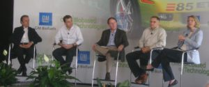 GM Biofuels Summit, Detroit 2008 featured Emerson Fittipaldi, Joel Velasco, Bruce Dale, Randy Kramer and Beth Lowery.