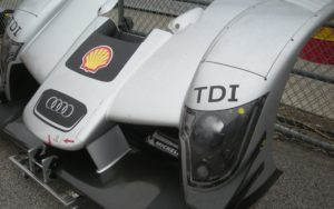 Shell, the official supplier of the Audi TDI's B5 diesel.