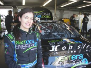 Leilani Munter and the NextEra Energy Resources #59