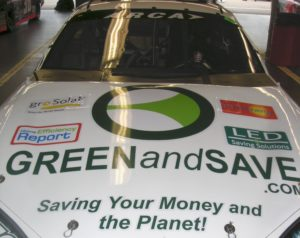 """The first ever eco-sponsored race care in America"""