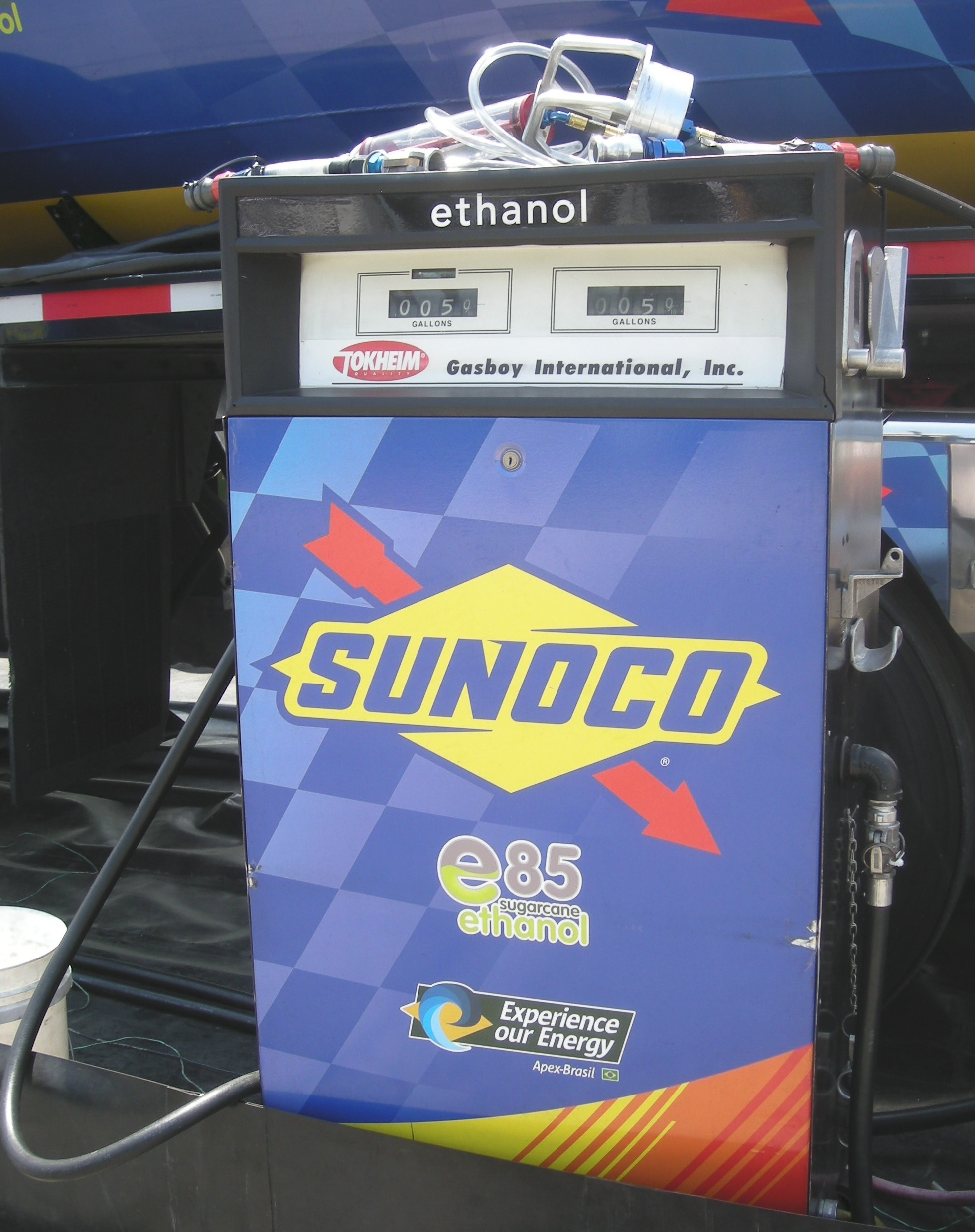 IndyCar switched to E85, becoming more relevant with fuels available to the general public.
