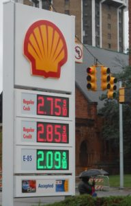 Detroit Shell station sells E85 at a serious discount to regular E10.
