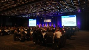 A plenary session at the World Congress on Industrial Biotechnology (July 19, 2015, Montreal).