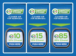 pump labels Nebraska American Ethanol