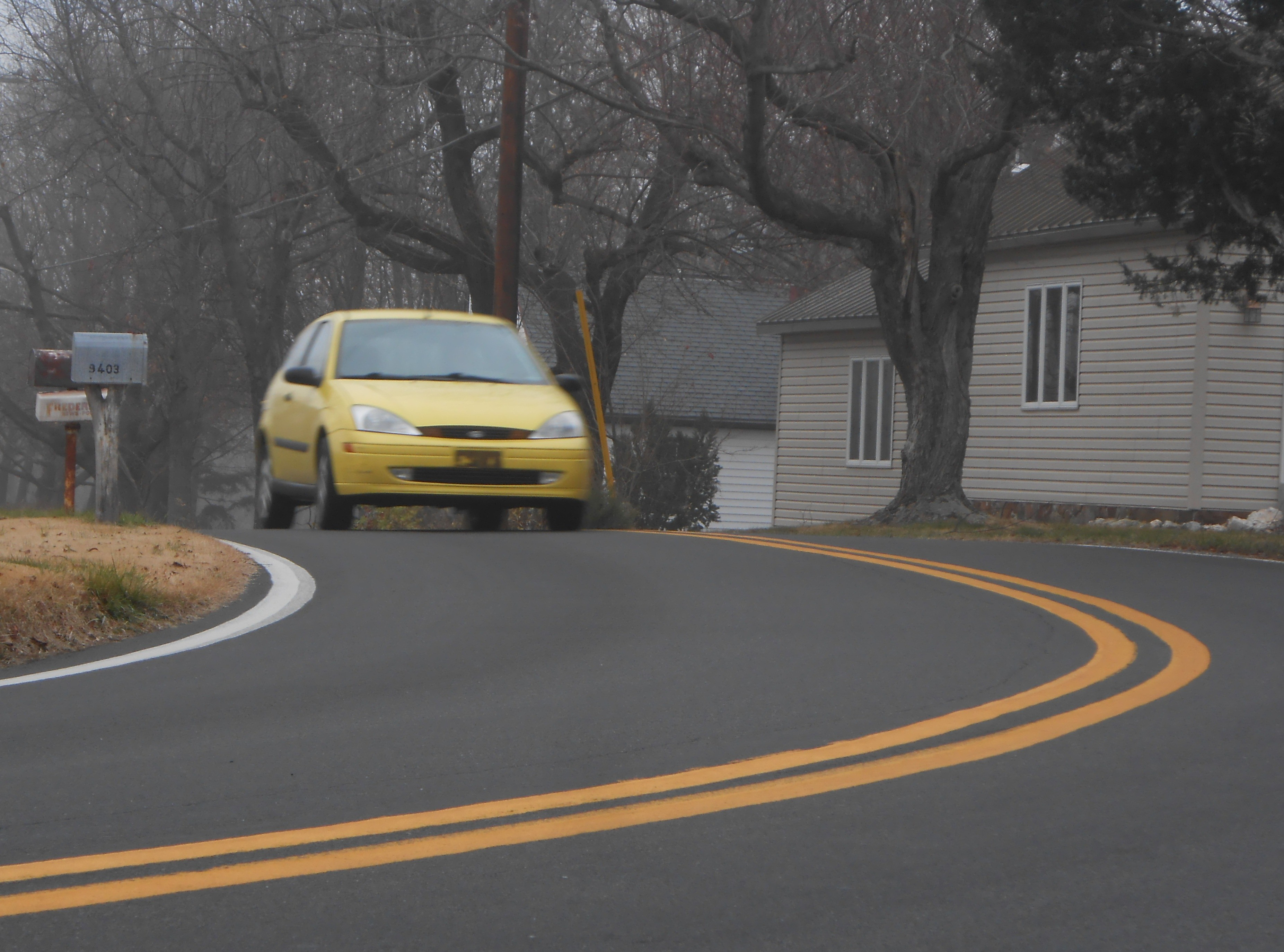 Driving in the hills of Frederick, Maryland powered by E30+