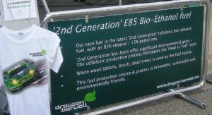 Sign of the Times: Cellulosic E85 used by Drayson Barwell's 007 Aston Martin
