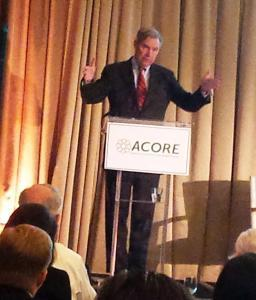 Senator Sheldon Whitehouse expresses optimism at ACORE National Policy Forum