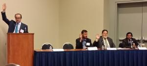 Dan Smolen engaged the audience and panelists with questions about