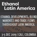 Ethanol Latin America   —   December 3-5, 2019   —   Cali, Colombia
