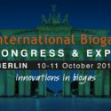 International Biogas Conference & Expo   —   October 10-11, 2018   —   Berlin, Germany