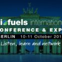 Biofuels International Conference and Expo   —   October 10-11, 2018   —   Berlin, Germany