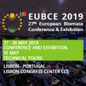 European Biomass Conference and Exhibition (EUBCE)    —   May 27-30, 2019   —   Lisbon, Portugal