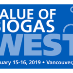 Value of Biogas West   —   January 15-16, 2019   —   Vancouver, British Columbia, Canada