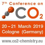7th Conference on Carbon Dioxide as Feedstock for Fuels, Chemistry and Polymers   —   March 20-21, 2019   —   Cologne, Germany