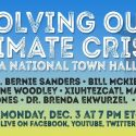 Solving Our Climate Crisis: A National Town Hall   —   December 3, 2018   —   Washington, DC