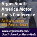 Argus South America Motor Fuels Conference   —   April 4-5, 2019   —   Sao Paulo, Brazil