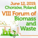 VII Forum of Biomass and Waste   —   June 12, 2019   —   Chorzow, Poland
