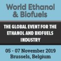 World Ethanol & Biofuels   —   November 5-7, 2019   —   Brussels, Belgium
