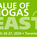 CALL FOR ABSTRACTS:   Value of Biogas East   —   March 26-27, 2020   —   Toronto, Ontario, Canada    DEADLINE:  September 27, 2019