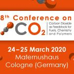 ONLINE ONLY 8th Conference on Carbon Dioxide as Feedstock for Fuels, Chemistry and Polymers   —   March 24-25, 2020   —   Cologne, Germany